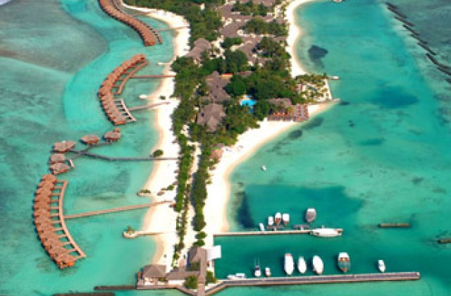 Отель Sheraton Maldives Full Moon Resort & Spa 4*